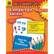 Teacher Created Resources Daily Warm-Ups: Language Skills Book, Grades 3
