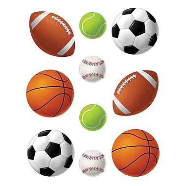 Teacher Created Resources Sports Balls Accents, 30/Pack (TCR4086)