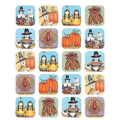 Teacher Created Resources Stickers, Debbie Mumm We Are Thankful, 120/Pack