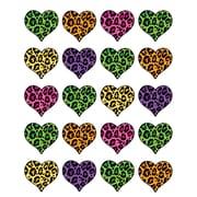 Teacher Created Resources Stickers, Leopard Print Heart