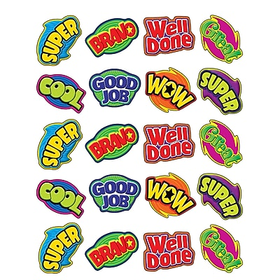 Teacher Created Resources Stickers, Positive Words, 120/Pack