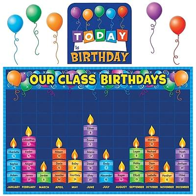 Teacher Created Resources Bulletin Board Display Set, Birthday Graph
