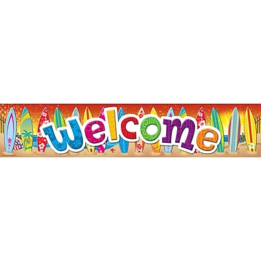 Teacher Created Resources Surf's Up Welcome Banner