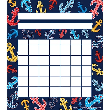 Teacher Created Resources Anchors Incentive Chart, 5 1/4