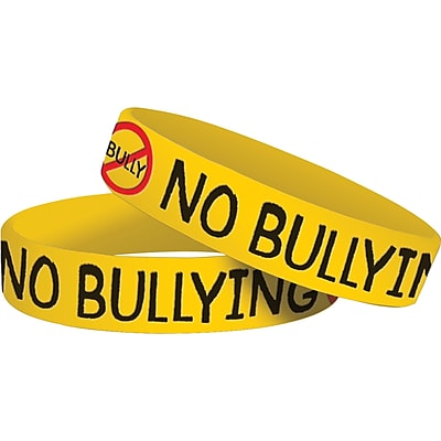 Teacher Created Resources Bullying Wristbands, 10/Pack
