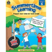"Teacher Created Resources ""Summertime Learning"" Activity Book, Grade 6 (TCR8846)"