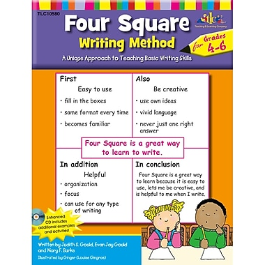 The Lorenz Corporation TLC10580 Four Square Writing Method Resource Book