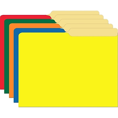 Top Notch Teacher Products Primary Assorted File Folder, 10/Pack (TOP3348)