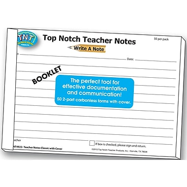Top Notch Teacher Products Write A Note Booklet (TOP4922)