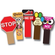 Top Notch Teacher Products® Set Of All 5 Handy Signs, Grade Toddler - 12