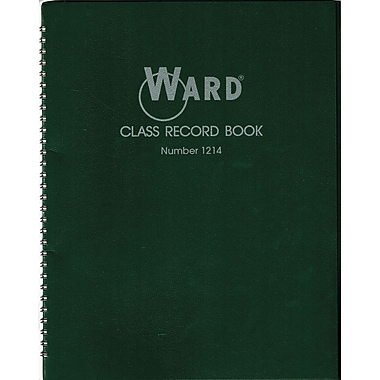 The Hubbard Company Ward® Class Record Book