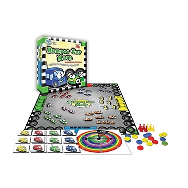 Wiebe Carlson Associates Bumper Car Math Game Multiplication Division, Grade 3 - 12 (WCA4223)