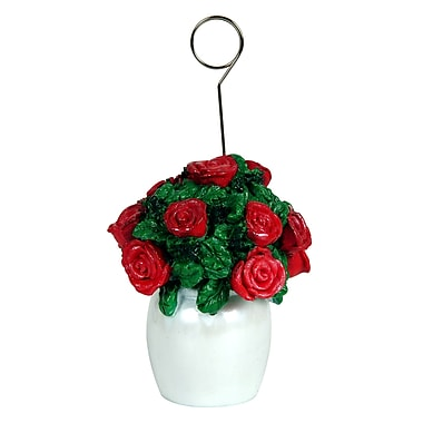 Rose Bouquet Photo/Balloon Holder, 3/Pack