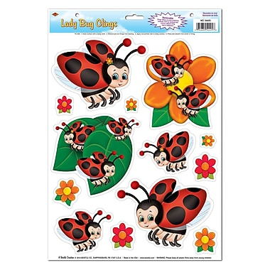 Lady Bug Clings, 12
