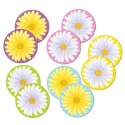 "Mini Daisy Cutouts, 4"", 70/Pack"