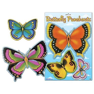 Butterfly Cutouts, 5-1/2