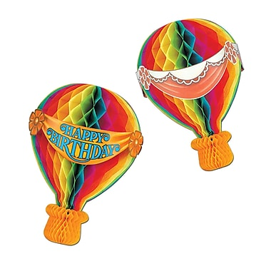 Tissue Hot Air Balloon, 13-1/2
