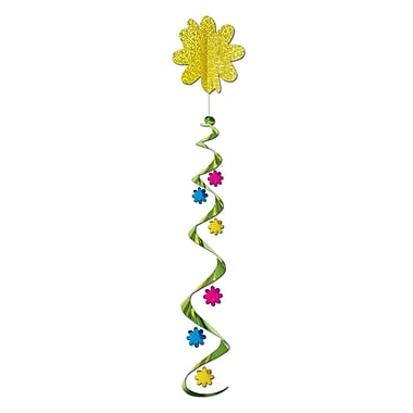 Tourbillon de fleurs, 4 pi, paq./3