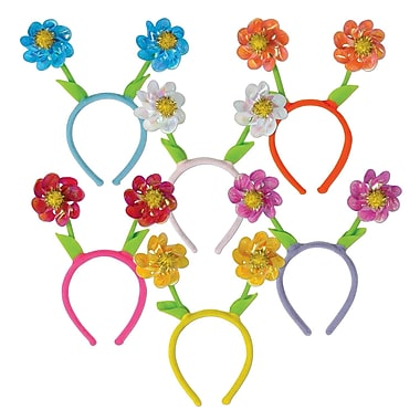 Flower Pinwheel Boppers, One Size Fits Most, 3/Pack