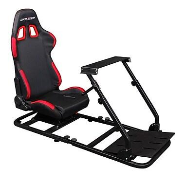 DXRacer® PSCombo200-N, Driving Simulator Adjustable Seat, Black