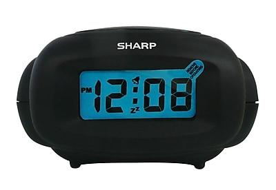 MZ Berger SPC500 Digital Table Clock, Black