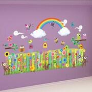 Mona Melisa Designs Flower Garden Wall Decal