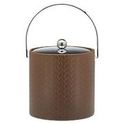 Kraftware San Remo Pinecone Design 3 Qt Ice Bucket w/ Metal Cover