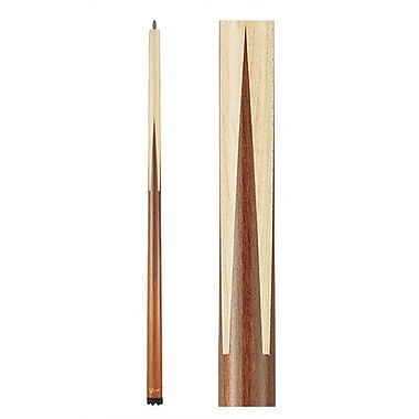 GLD Products Viper Sneaky Pete Pool Cue in Zebrawood; 21 oz