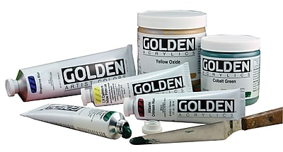 Golden Artist Colors 4 Oz Heavy Body Acrylic Color Paints; Carbon Black WYF078276417985