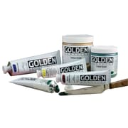 Golden Artist Colors 4 Oz Heavy Body Acrylic Color Paints; Transparent Brown Iron Oxide