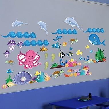 Mona Melisa Designs Ocean Girl Wall Decal