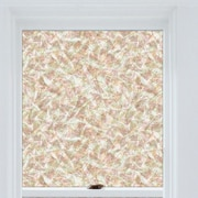 Brewster Home Fashions Window Decor Brushstrokes Window Film