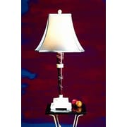 Rembrandt Home Polished Marble 32'' Lamp