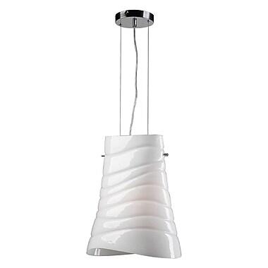 PLC Lighting Mandy 1-Light Pendant; Incandescent
