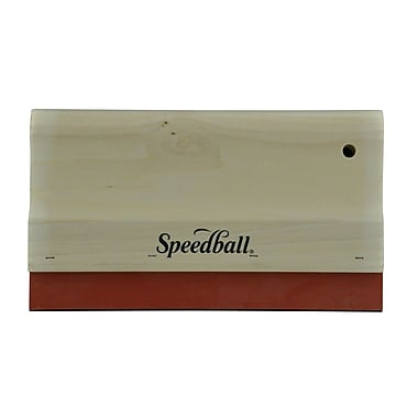 Speedball 10'' Wood Handle Graphic Squeegee