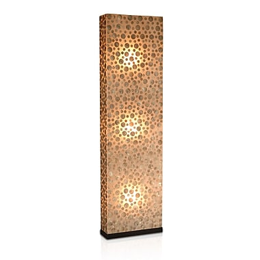 Jeffan Bubbles Partition 65'' Column Floor Lamp
