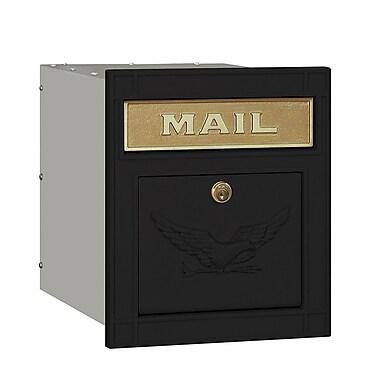 Salsbury Industries Wall Mounted Mailbox; Black