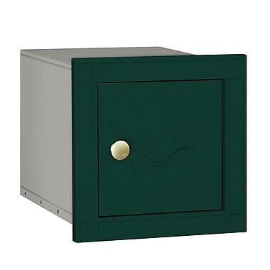Salsbury Industries Wall Mounted Mailbox; Green