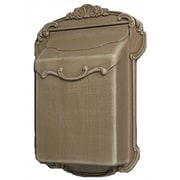 Special Lite Products Victoria Wall Mounted Mailbox; Verde Green