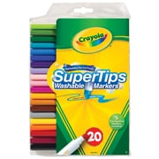 Crayola Super Tips Washable Markers (20 Pack)