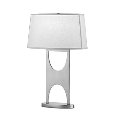 Remington Lamp Steel 26.5'' Table Lamp