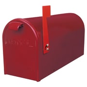 GDM Mailbox Company Newport Post Mounted Mailbox; Red