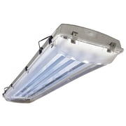 Howard Lighting 6-Light Vapor Proof High Bay Fluorescent Light Fixture