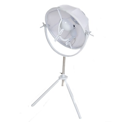 Pangea Home Glen 95'' Tripod Floor Lamp; White