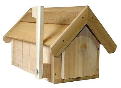 Creekvine Designs Cedar Accessories Post Mounted Mailbox; Cedar Stain/Sealer