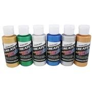 Createx Colors 2 oz Pearl Airbrush Paint Set