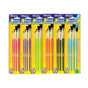 Bazic Paint Brushes (Set of 5); Case of 24