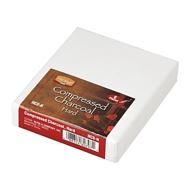 Alvin and Co. Compressed Hard Charcoal (Set of 6)