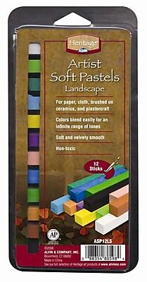 Alvin and Co. Landscape Soft Pastels Set (Set of 12) WYF078276489030