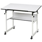Alvin and Co. Minimaster II Drafting Table; White by